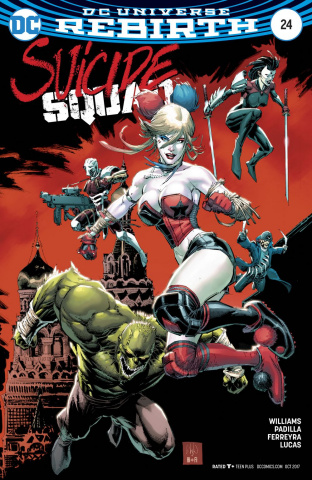Suicide Squad #24 (Variant Cover)