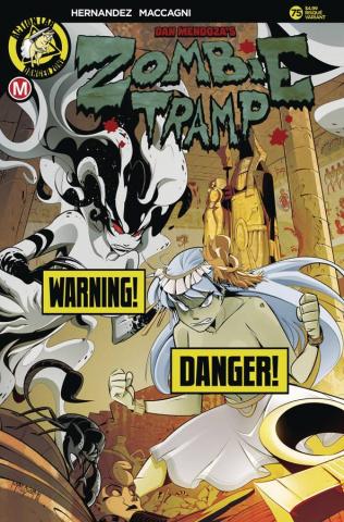 Zombie Tramp #75 (Maccagni Risque Cover)