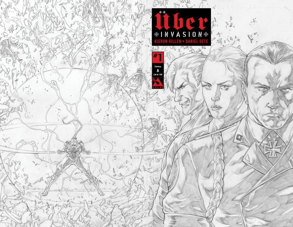 Über: Invasion #1 (Century Cover)