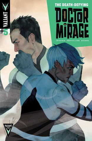 The Death-Defying Doctor Mirage #5 (Wada Cover)
