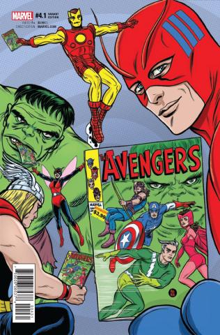 Avengers #4.1 (Allred Cover)