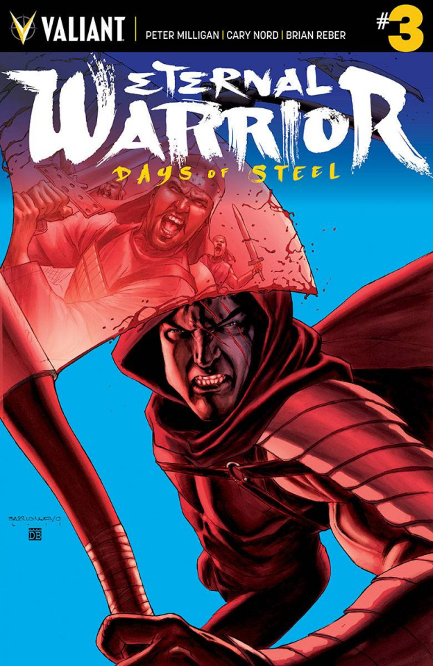 Eternal Warrior: Days of Steel #3 (20 Copy Barrion Cover)