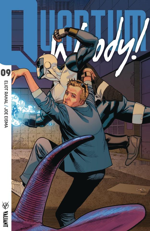 Quantum & Woody #9 (50 Copy Chen Cover)