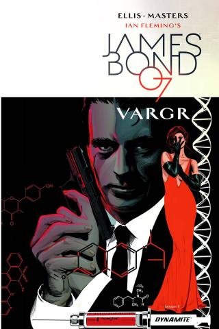 James Bond #1 (20 Copy Mooney Unique Cover)