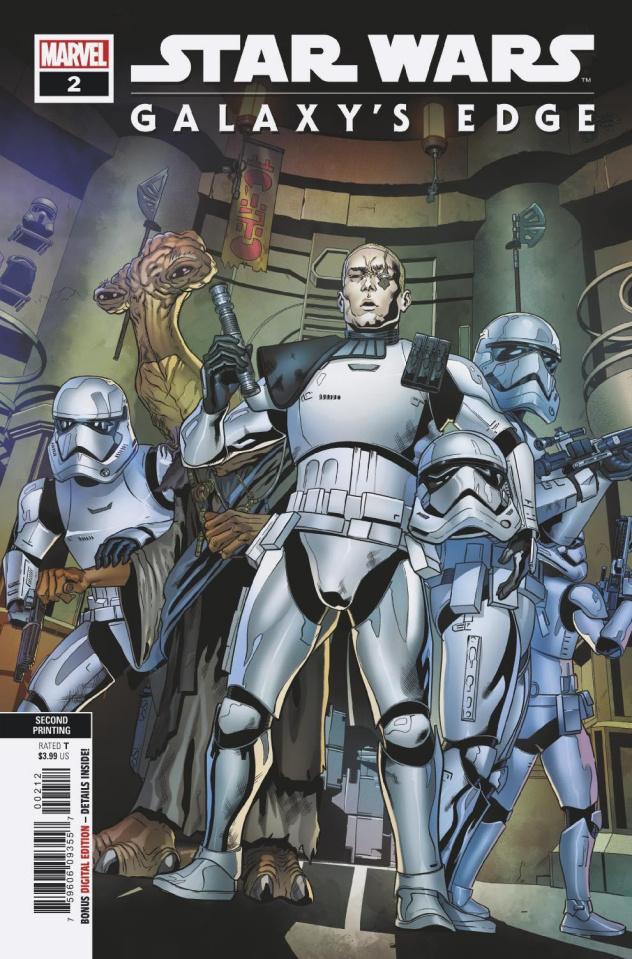Star Wars: Galaxy's Edge #2 (Sliney 2nd Printing)