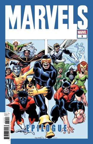 Marvels: Epilogue #1 (Cockrum Hidden Gem Cover)