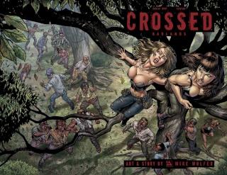Crossed: Badlands #83 (Wrap Cover)
