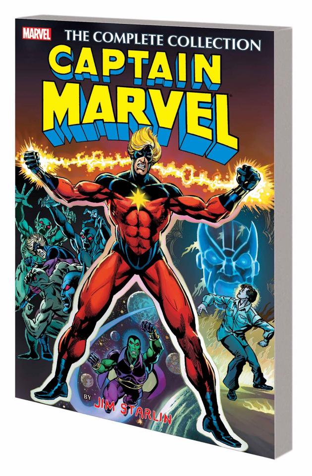 Captain Marvel by Jim Starlin