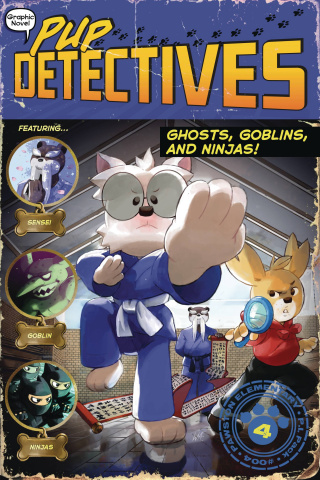 Pup Detectives Vol. 4: Ghost, Goblins, and Ninjas!