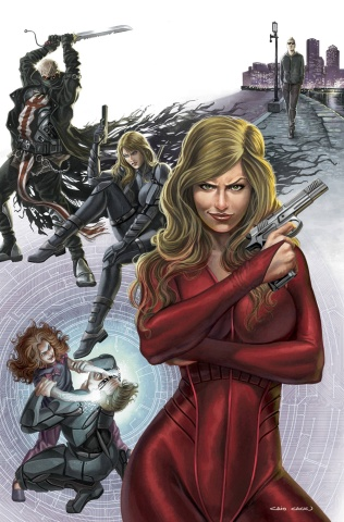 Grimm Fairy Tales: Red Agent #5 (Cacau Cover)