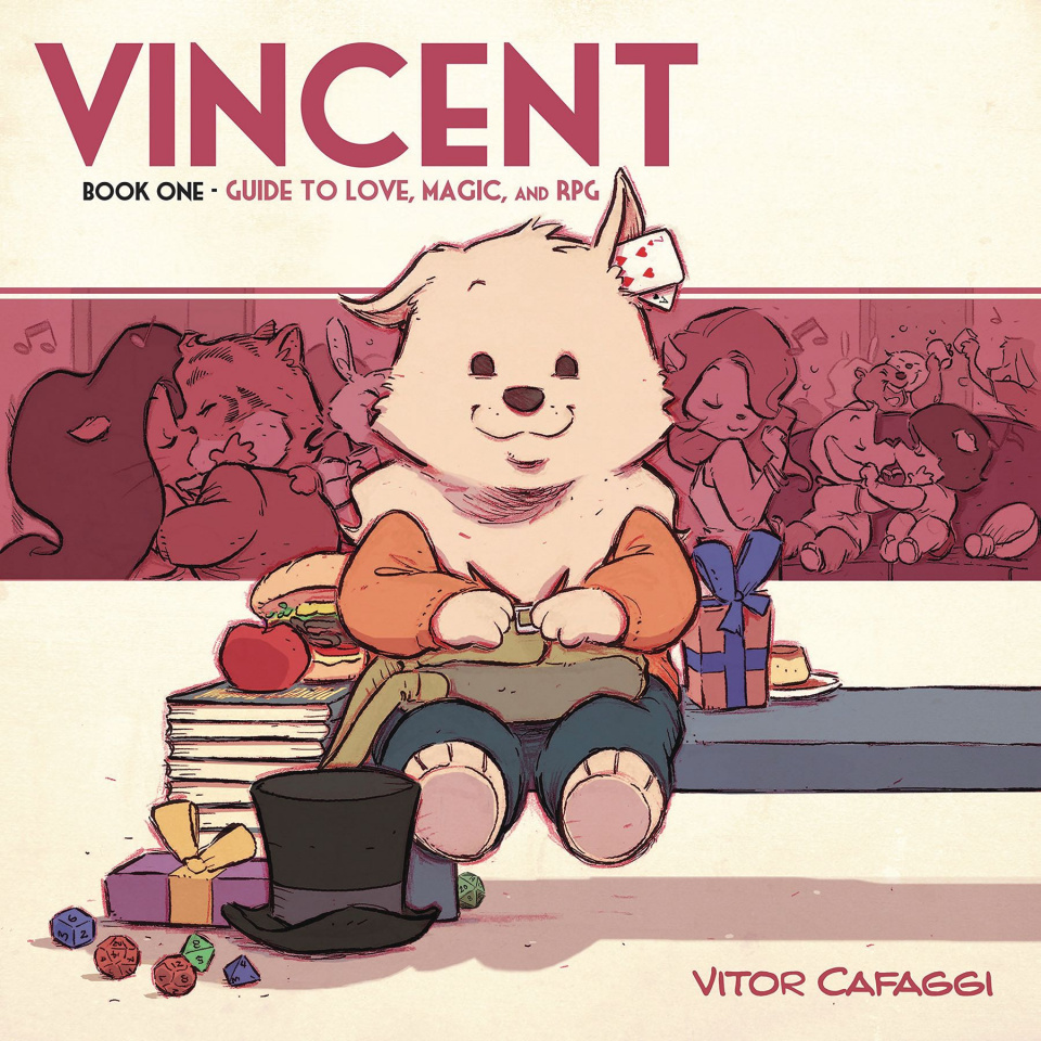 Vincent Book 1: Guide to Love, Magic, and RPG