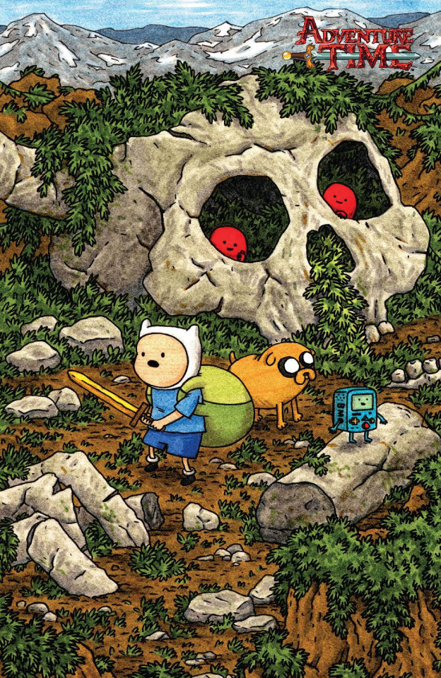 Adventure Time #50 (50 Copy Brown Cover)