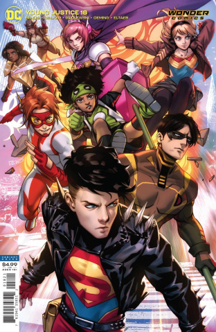 Young Justice #18 (Derrick Chew Card Stock Cover)
