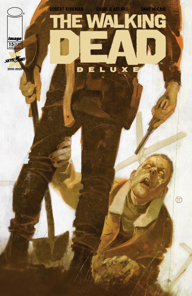 The Walking Dead Deluxe #15 (Tedesco Cover)