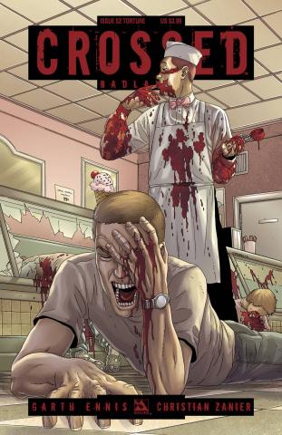 Crossed: Badlands #52 (Torture Cover)