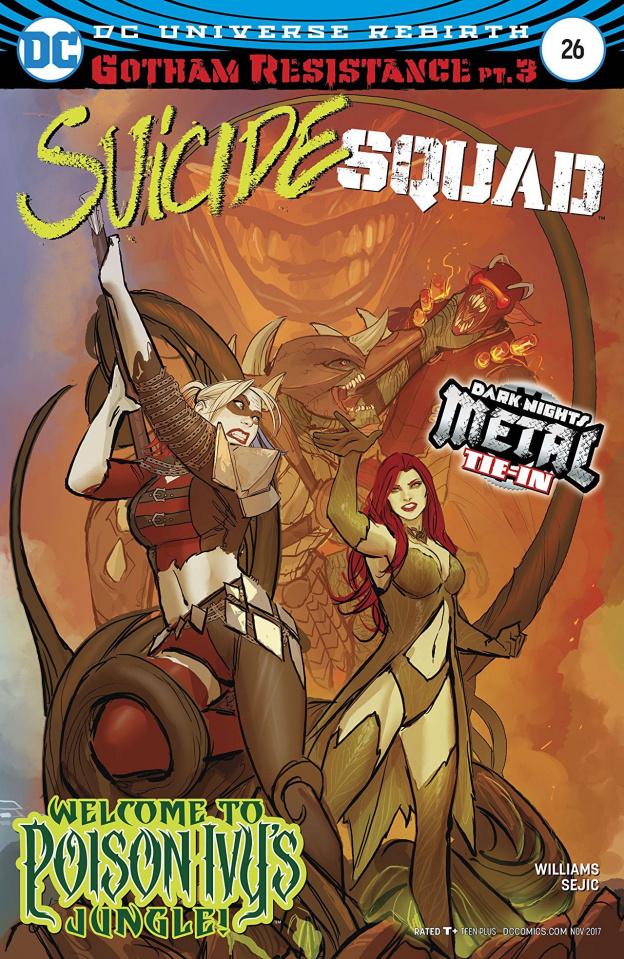 Suicide Squad #26 (Metal)