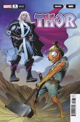 Thor #9 (Larroca Fortnite Cover)