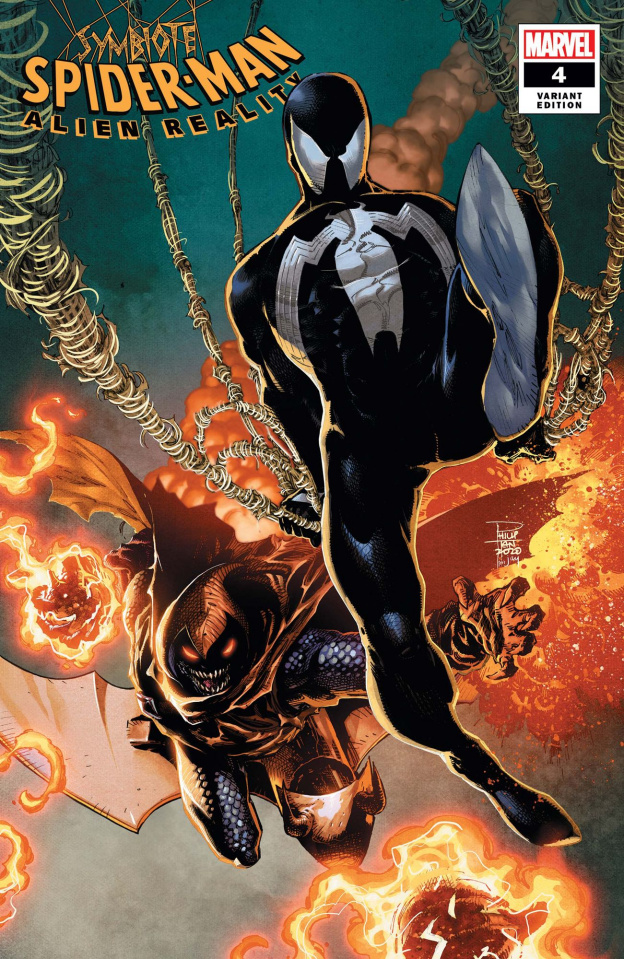 Symbiote Spider-Man: Alien Reality #4 (Tan Cover)