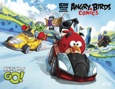 Angry Birds Comics #1 (Subscription Cover)