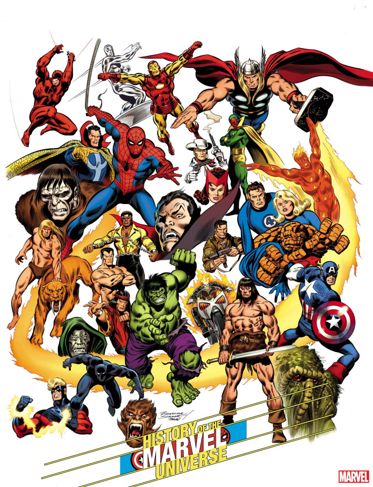 History of the Marvel Universe #1 (Buscema Hidden Gem Cover)