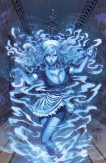 Spirit Hunters #7 (Reyes Cover)