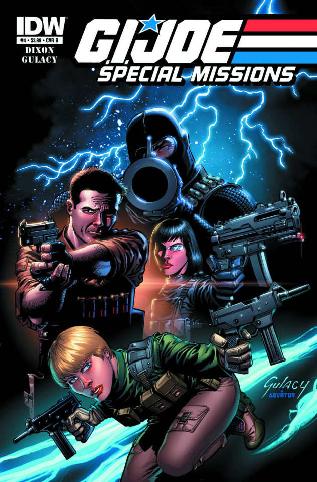 G.I. Joe: Special Missions #4 (10 Copy Cover)