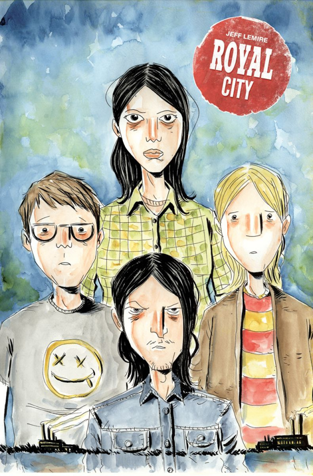 Royal City #6 (Lemire Cover)