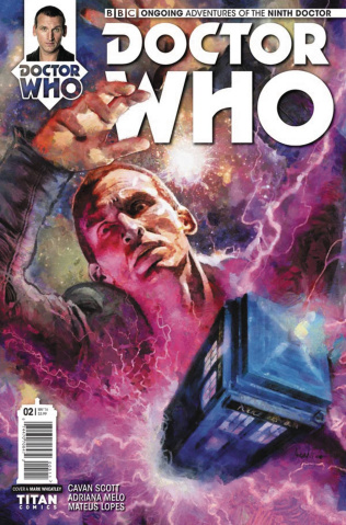 Doctor Who: New Adventures with the Ninth Doctor #2 (Wheatley Cover)