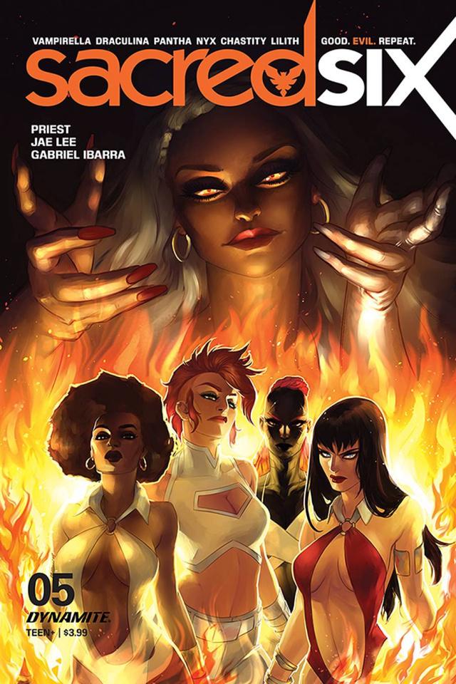 Sacred Six #5 (Hetrick Cover)