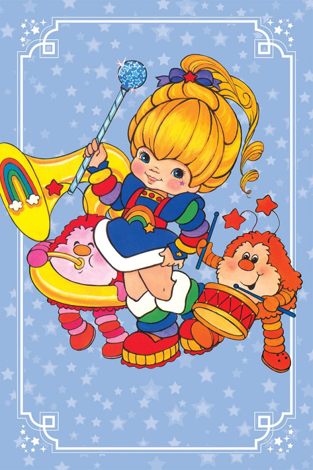 Rainbow Brite #4 (20 Copy Classic Virgin Cover)