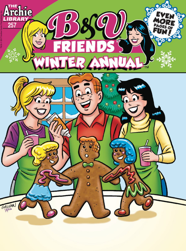B & V Friends Winter Annual Digest #257