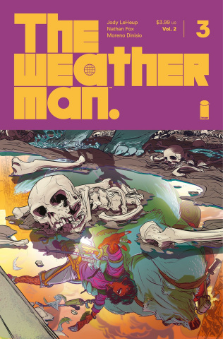 The Weatherman #3 (Fox Cover)