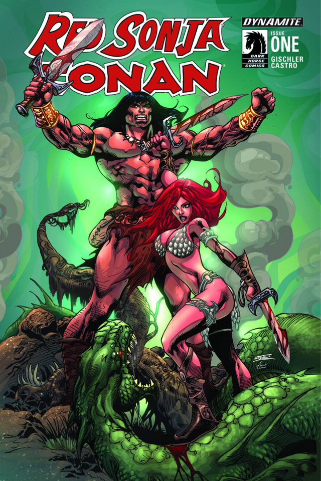 Red Sonja / Conan #1 (Subscription Cover)