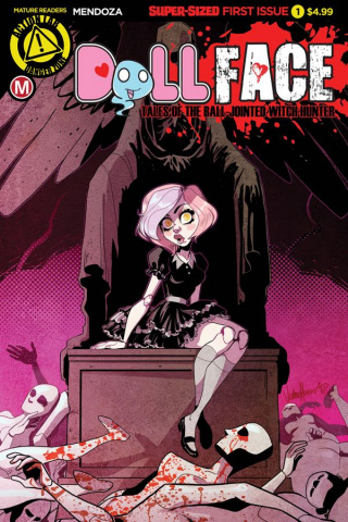 Dollface #1 (Harris Cover)