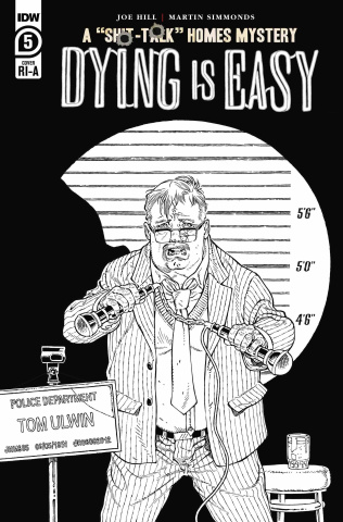 Dying Is Easy #5 (10 Copy B&W Rodriguez Cover)
