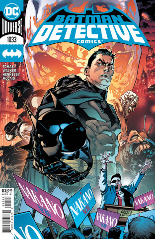 Detective Comics #1033 (Brad Walker & Andrew Hennessy Cover)