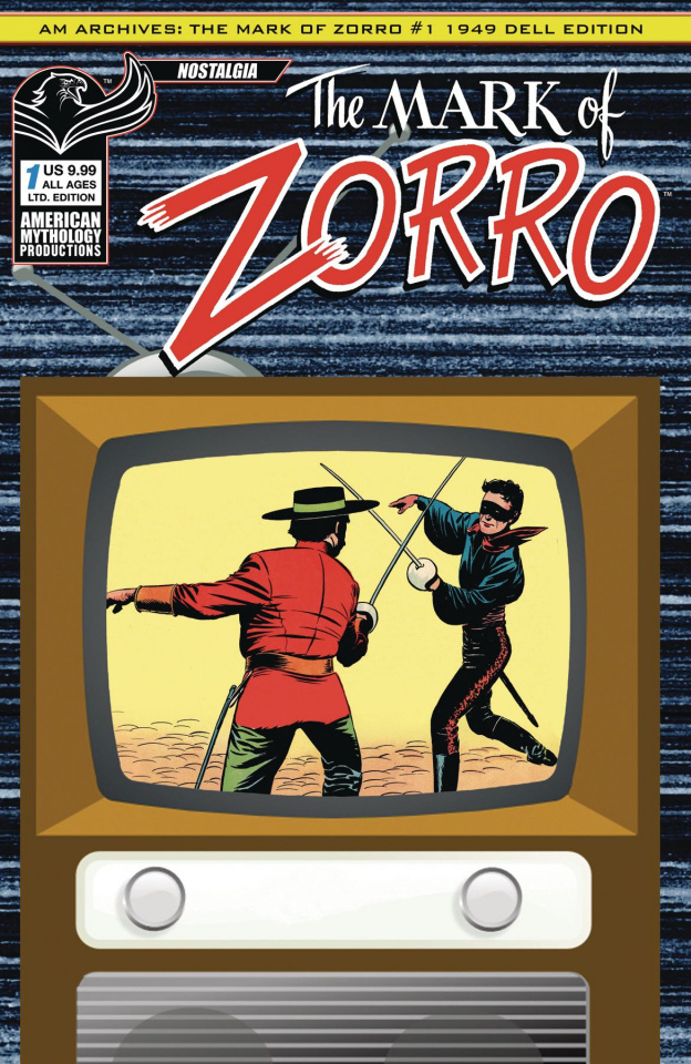 The Mark of Zorro #1 (Limited Edition Color)
