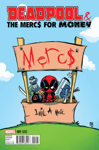Deadpool and the Mercs For Money #1 (Young Cover)