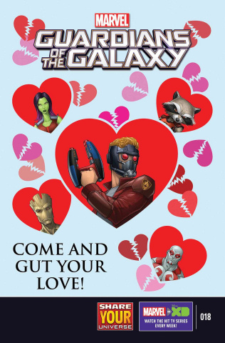 Marvel Universe: Guardians of the Galaxy #18