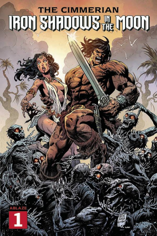 The Cimmerian: Iron Shadows in the Moon #1 (Level Cover)