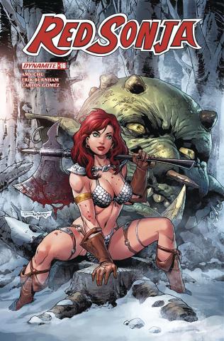 Red Sonja #16 (Thibert Cover)