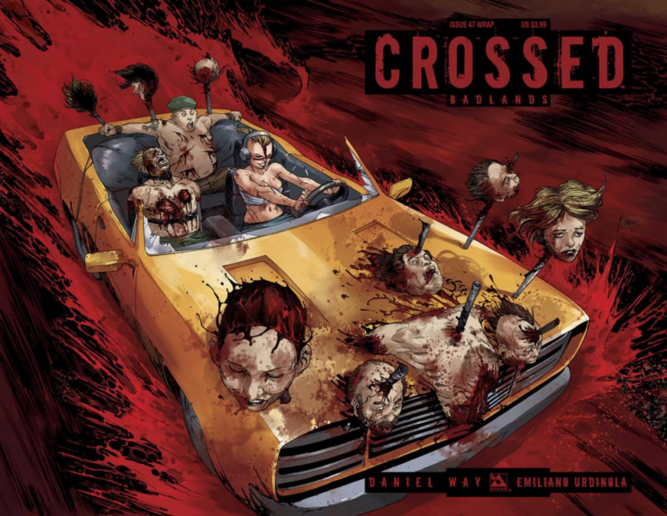 Crossed: Badlands #47 (Wrap Cover)