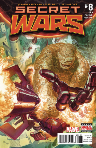 Secret Wars #8 (Alex Ross 2nd Printing)