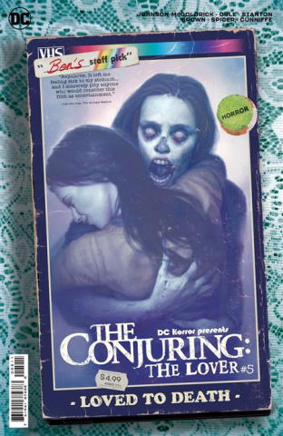 DC Horror Presents: The Conjuring - The Lover #5 (Ryan Brown Movie Poster Card Stock Cover)