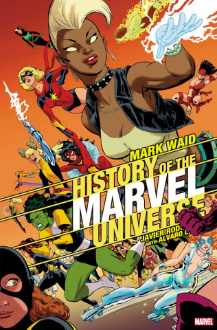 History of the Marvel Universe #4 (Rodriguez Cover)