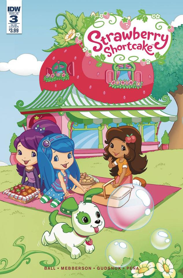 Strawberry Shortcake #3 (Subscription Cover)