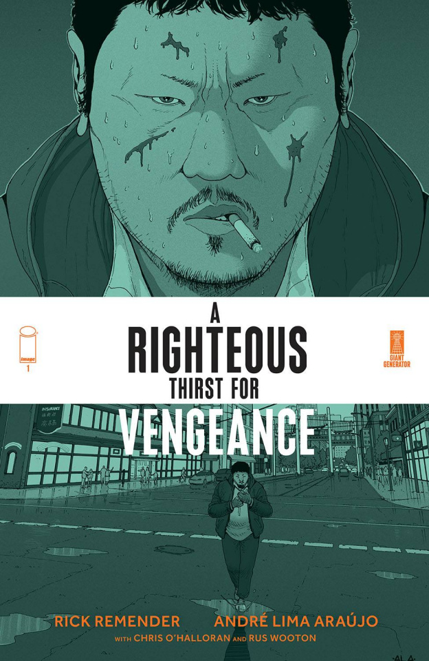A Righteous Thirst for Vengeance #1 (Araujo & O'Halloran Cover)