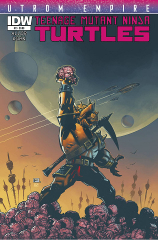Teenage Mutant Ninja Turtles: Utrom Empire #2