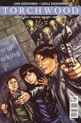 Torchwood #1 (Shedd Cover)