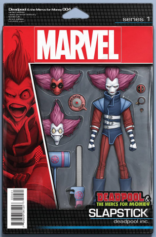 Deadpool and the Mercs For Money #4 (Christopher Action Figure Cover)